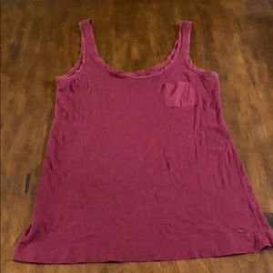 Abercrombie & Fitch maroon tank